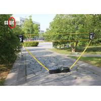 Easy Set Up 3 In 1 Sports Set , Sturdy Camping Tennis Badminton Volleyball Set