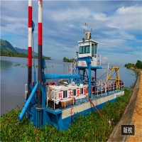 Buy cheap 1342Kw 24inch discharge port,15m Digging Depth,22m Length, River Dredger Machine Manufacturer product