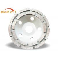 Buy cheap 180mm Diamond Double Row Cup Grinding wheel for Granite/Marble/Sandstone/Limestone from wholesalers