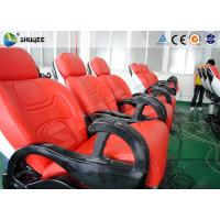 Buy cheap 6 Dof Mobile Theater Chair , 4d Cinema Custom Motion Control System product
