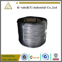 Buy cheap High Tension Hot Dip 2mm Galvanized Steel Wire high carbon steel wire product