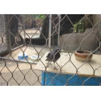 Buy cheap Ferruled Aviary Wire Stainless Steel Bird Mesh Netting For Visitor Protection product