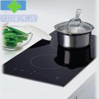 Buy cheap Heat Resistant Ceramic Glass Panels Low Expansion Coefficient For Induction Cooker product
