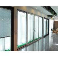 Buy cheap CR80 5mm+12A+5mm Hollow Glass Interior Sliding Door With Aluminum Frame Factory For Office Bedroom product
