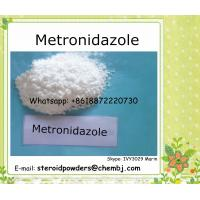 Buy cheap Antibacterial Metronidazole 443-48-1 Pharmaceutical Raw Materials Metronidazole for Antibacterial product