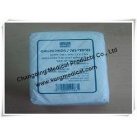 Plain Absorbent Cotton Gauze Dressing Swabs Non Sterile for Wound Care