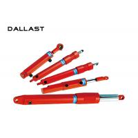 Buy cheap Double Acting Chromed Hydraulic Cylinder for Agricultural Truck / Dump Trailer product
