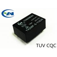 Buy cheap Short Height 10.2mm 4 Pins 12 Volt Relay , Silver Alloy Contact One Normally Open Pole product