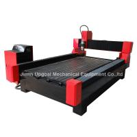 Buy cheap router resistente del CNC de la piedra de 1300*1800m m con AXIS rotatorio from wholesalers