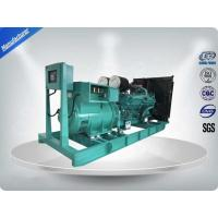 Buy cheap 1100Kw Open Type  Cummins Sixteen-cylinder Diesel Generator Set  Brushless PMG Alternator product
