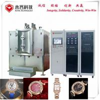 Buy cheap Watch Case Magnetron Sputtering Coating Machine , Ticn Crc Vacuum Coating Plant product