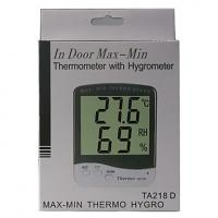 Buy cheap Auto LCD Digital Room Hygrometer Thermometer with Clock product