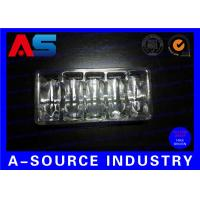 Buy cheap Clear PVC Plastic Packaging Trays For Vaccines Vials 2mL / 3mL with Embossing Logo product