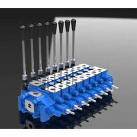 Buy cheap Hydraulic Relief Combined Spool Directional Control Valve HCD6 product