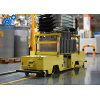 Buy cheap Large Load Capacity AGV Autonomous Guided Vehicle Carbon Steel With Powder Coating product