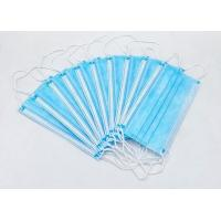Buy cheap High Filtration Disposable Face Mask Odorless High Fluid And Respiratory Protection product