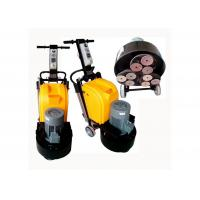 Buy cheap 9 Heads Concrete Manual Floor Polisher / Scrubber 220V 50HZ With Planetary System product