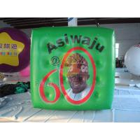 Buy cheap Green Political Advertising Bal, Inflatable Advertisement Helium Cube for Political events product