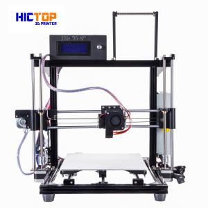 Buy cheap Auto Leveling 3d printers desktop PLA / ABS / WOOD Flexible in Black product