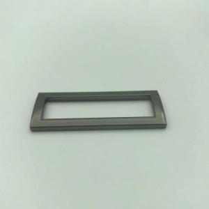 Buy cheap Silver Grey Color 1 Inch Metal Hook Buckle Custom Logo Service product