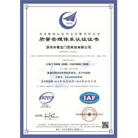 Shenzhen Turboo Gate & Door Automation Co., Ltd. Certifications