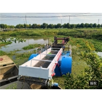 Buy cheap Rubbish 14.5m Length Aquatic Weed Harvester With 240L Tank product