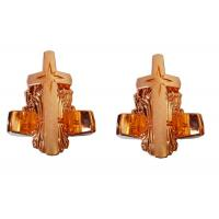 Buy cheap Copper Funeral Coffin Parts Sun And Star Pattern 65cm X 51cm X 37cm Light Weight product