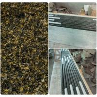 Buy cheap Green Solid Granite Worktops 250MPA Compressive Strength SGS Standard product