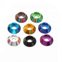Buy cheap M6 Titanium Precision Parts Rear Wheel Spacers Washer For Fast Racing Daytona product