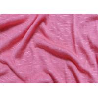 Buy cheap Pink / White Viscose Fabric Furniture Upholstery Fabric For Sportswear product
