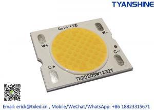 Buy cheap Solderless Holder Tunable White COB LED 2800K-6000K 50Watt Variable White COB CRI90 product