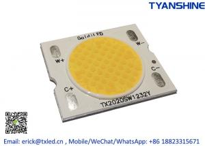Buy cheap Solderless Tunable White COB LED 2800K-6000K 15W Bi-color COB CRI90 product