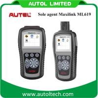 Buy cheap Autel MaxiLink ML619 (Upgraded Version of Autel AutoLink AL619) OBD2 2 Auto Scanner Car Scan Tool Code Reader product