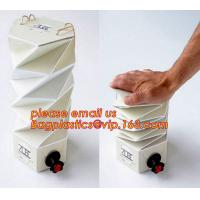 Buy cheap Customized plastic transparent oil bib bag pouch in box 20 liter,China Factory Direct Supply BIB Empty Bag In Box BAGEAS product