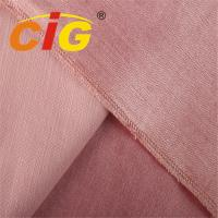 Buy cheap Soft Touching Velvet Sofa Upholstery Fabric Weight 340gsm Width 145cm from wholesalers