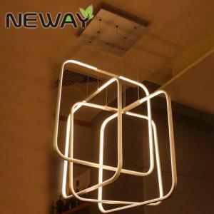 Buy cheap Modern Square Acrylic LED Pendant Lighting 520x520 620x620MM Squares Hanging Pendant Lamp led suspension light lamp product