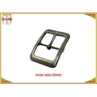Buy cheap Fashion Silver Plated Custom Zinc Alloy Metal Pin Belt Buckle / Tri Glide Buckle product