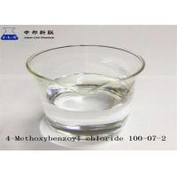 Buy cheap 4- Methoxybenzoyl Chloride Intermediate Pharmaceutical Products CAS 100-07-2 In Stock product
