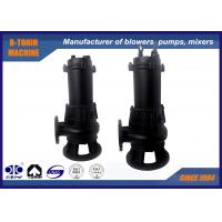 Buy cheap Casting Submersible Sewage Pump , flow rate 40m3/h centrifugal water pump product