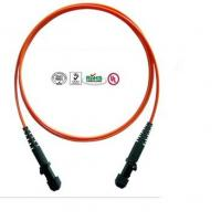 Buy cheap MTRJ Core Multi Mode Fiber Optical Patch Cord For Communication System product