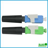 Buy cheap UPC Fiber Optic Patch Cable Connector , Ceramic Optical Cable Connector product