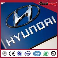Buy cheap Exhibitons Car Logo LED Light Emblems With Car Brands Names product