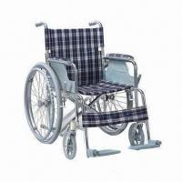 Buy cheap Mini/Foldable/Portable Wheelchair with Aluminum Chair Frame and CE/FDA/ISO Certifications product