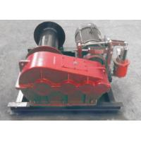 Buy cheap Electric / Hydraulic Marine Winch Lebus Double Groove Drum With Wire Rope product