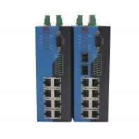 China RS232 RS422 RS485 Serial Ethernet Switch / 10 Port Industrial Grade Ethernet Switch on sale