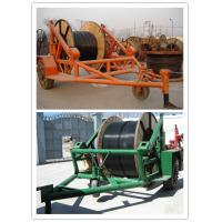 Buy cheap Cable Reel Puller,Cable Reels, Cable reel carrier trailer product