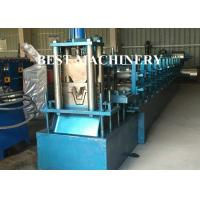 Steel Profile Hat Purlin Roll Forming Machine PLC Control Length