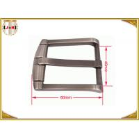 Buy cheap Classic Pin Type Metal Belt Buckle / Vintage Chrome Belt Buckle product