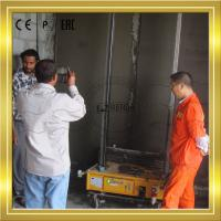 Buy cheap Auto Mortar wall plaster Machine Construction Equipment For Interior product
