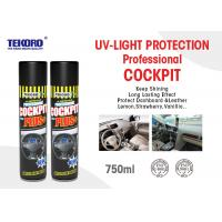 Buy cheap Cockpit Spray Or Car Care Spray Panel / Cockpit / Leather / Tyre Protection Use product